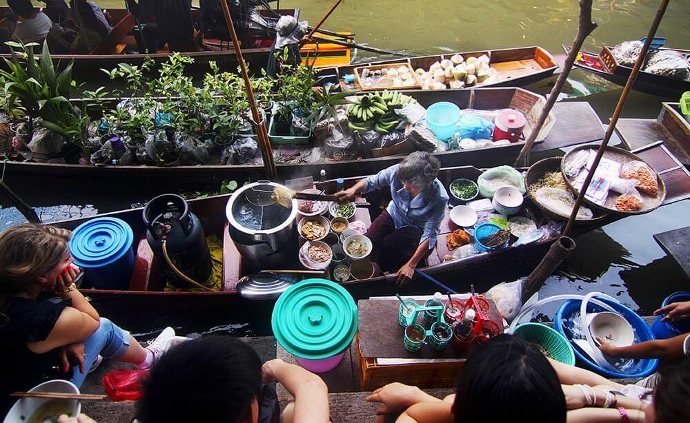 Asiatischer Markt