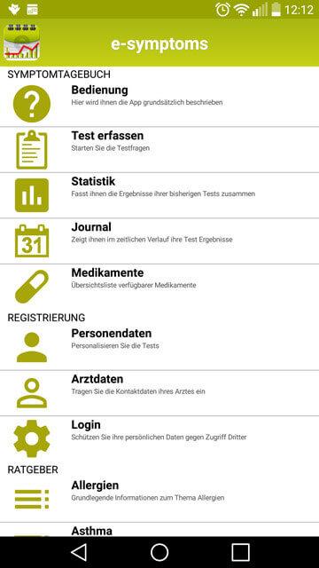 e-symptoms