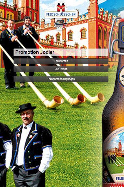 Jodelfest Webseite