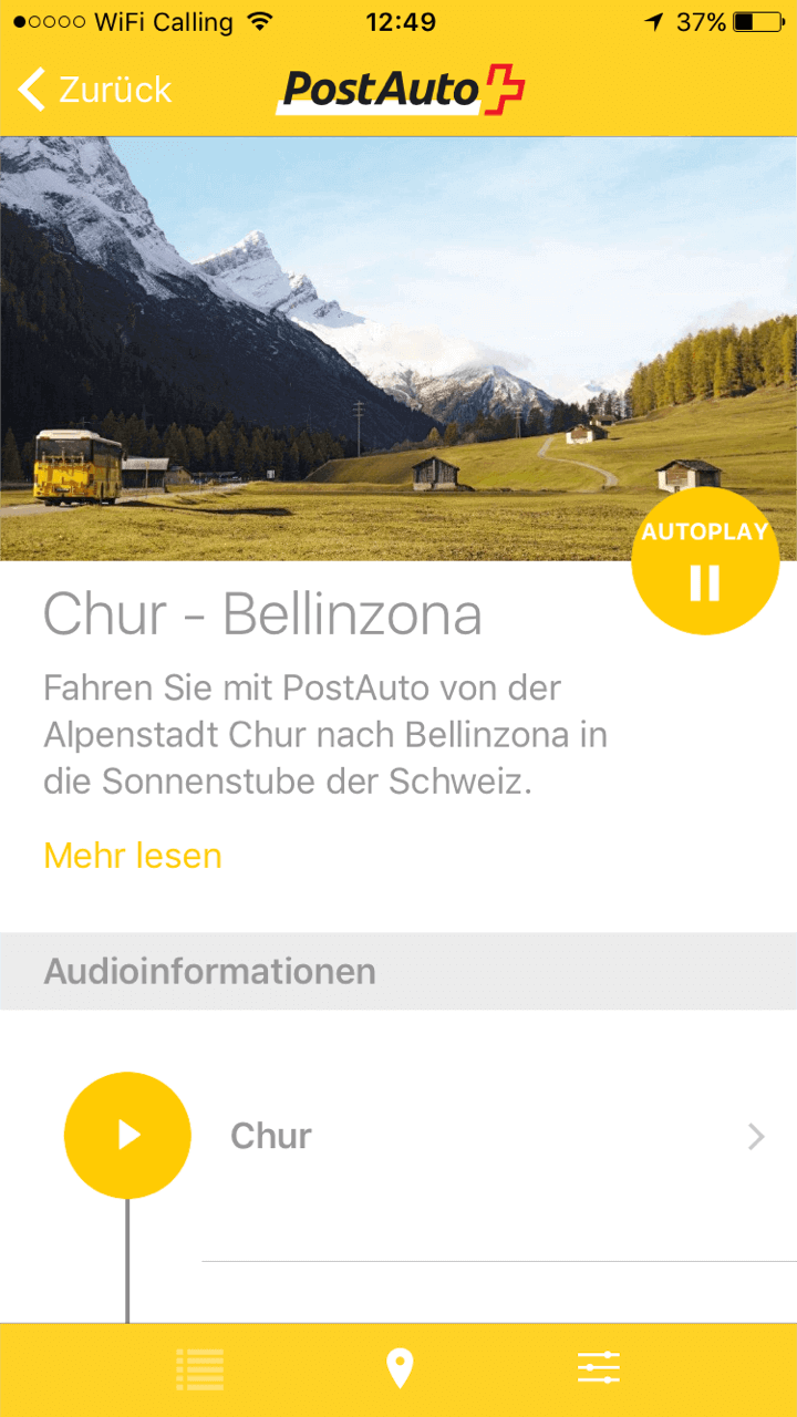 PostAuto Multimedia Guide