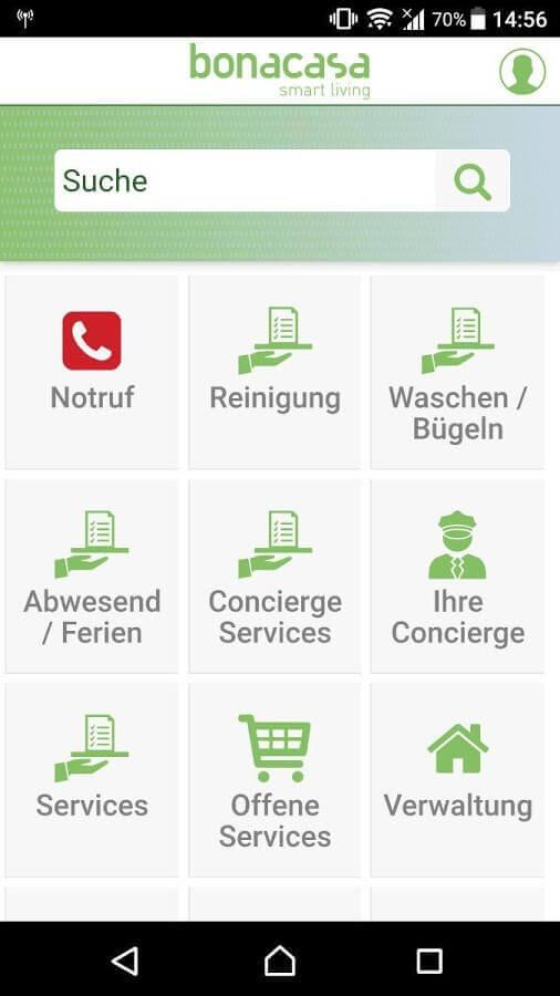 Screenshot App Bonacasa