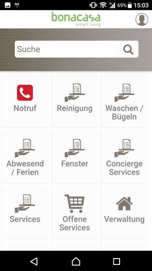 Screenshot App La Foncière