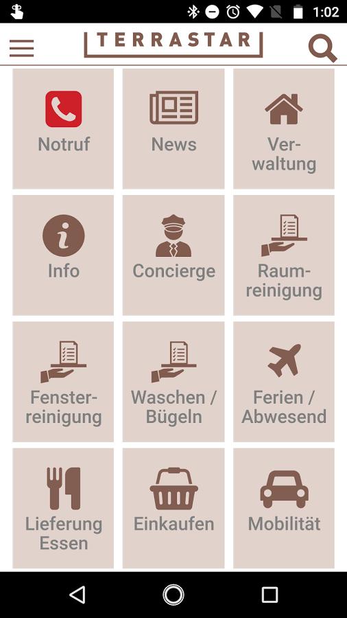Screenshot App Terrastar