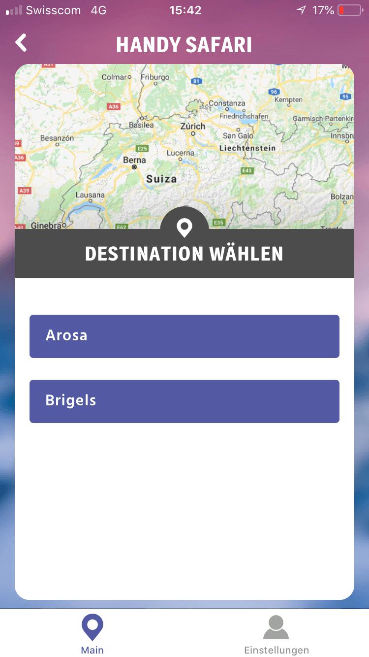 Handy Safari App – So macht Wandern richtig Spass