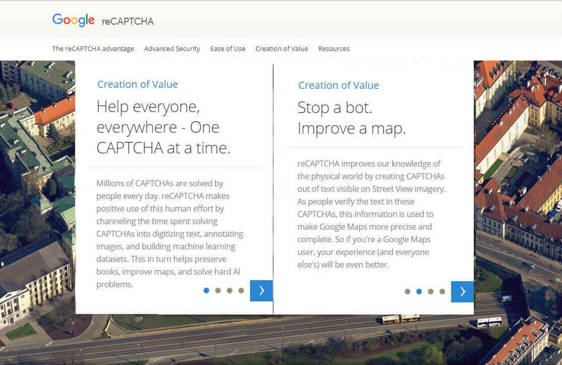 reCaptcha: trainiere die künstliche Intelligenz von Google