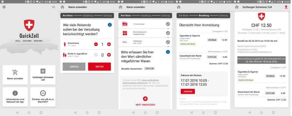 Prozesse digitalisieren mit der QuickZoll App: In wenigen Schritten zur korrekten Verzollung