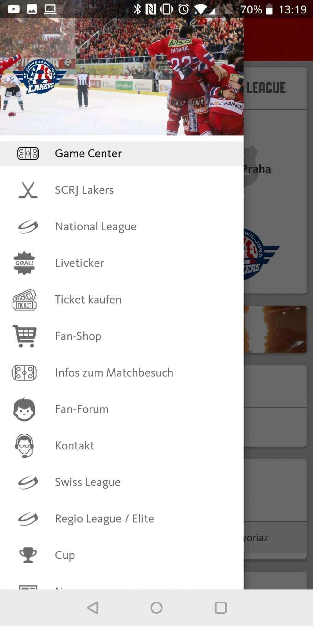 Swiss Ice Hockey: neue White Labeling App für die Lakers – Das Konzept