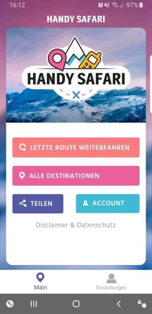 Handy Safari – die Post ist auch dabei